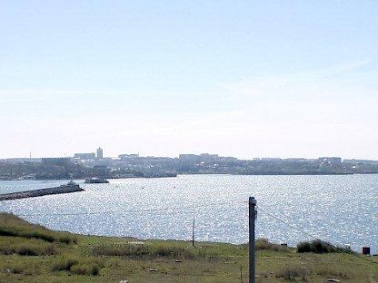 View from Sevastopol building plot